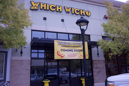 Which Wich? Superior Sandwiches opened its doors Monday, Oct. 28, 2019, at 145 Market Street in Flowood.