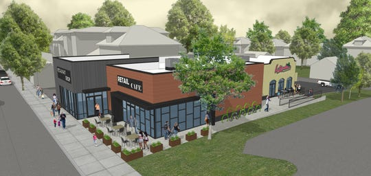 Rendering of the new building that will house La Bamba