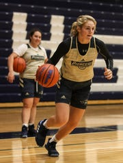 Providence's Natalie Boesing will be leading the Lady Pioneers for the 2019-2020 girls basketball season.