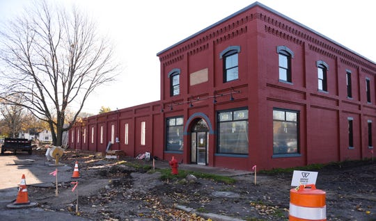 The former FC Mason Building on Railroad Street in downtown St. Johns has been converted to apartments.