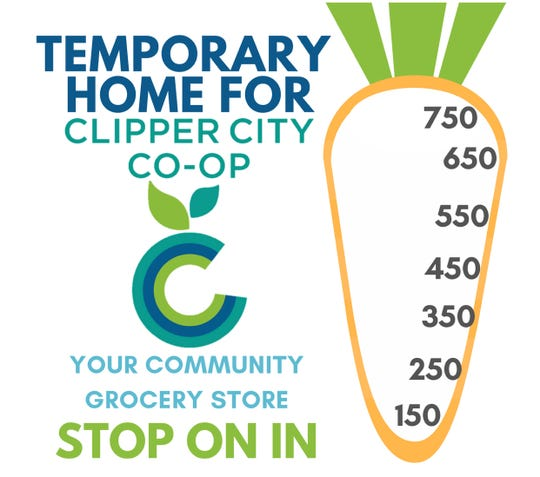 Clipper City Co-op says it needs 173 more members to have enough money to sign a lease to open a downtown grocery store.