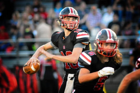Crestview quarterback Ross Kuhn, already a state qualifier in swimming and track, has now helped the Cougars get back to the state playoffs for the first time since 2011