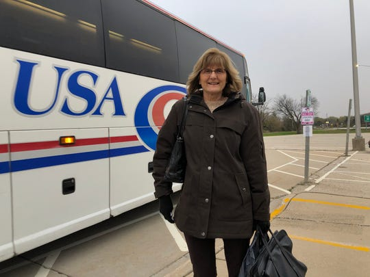 Cheryl Rath takes route 906 from Big Bend to her job in downtown Milwaukee nearly everyday. Waukesha County has proposed cutting the route, which transportation officials say has increasing costs and decreasing ridership.