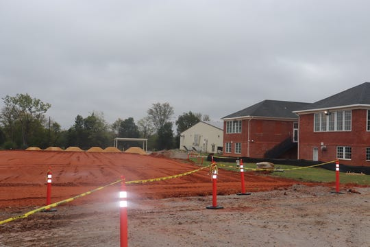 Construction has started on the addition of 12 classrooms at Pike Road Middle School. The work is set to be finished in time for the start of the 2020-2021 school year.