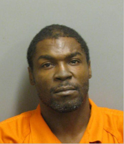 Frederick Posey is charged with theft and robbery.