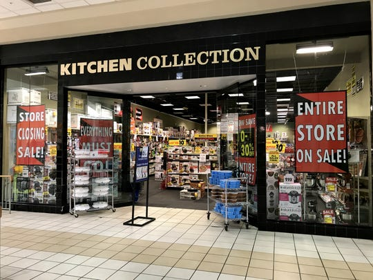 The Kitchen Collection store at Muncie Mall is set to close by the end of the year.
