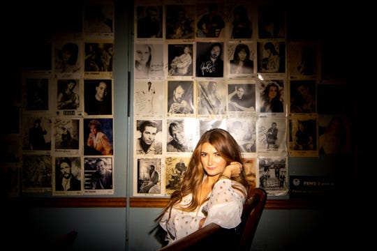 Singer Tenille Townes poses for a photo Nov. 4, 2019, at the Bluebird Cafe  in Nashville. After Townes moved to Nashville from Canada, she went to the Bluebird and read for hours as she waited to see her songwriting heroes.