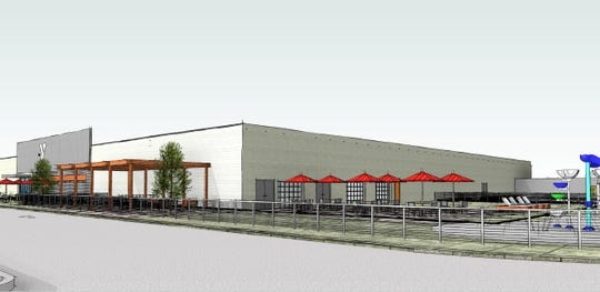 Rendering of future look of the Dickson County Family YMCA.