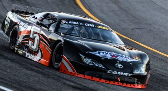 Mason Mingus from Brentwood won the 35th annual All American 400 at Fairgrounds Nashville Speedway on Nov. 3.