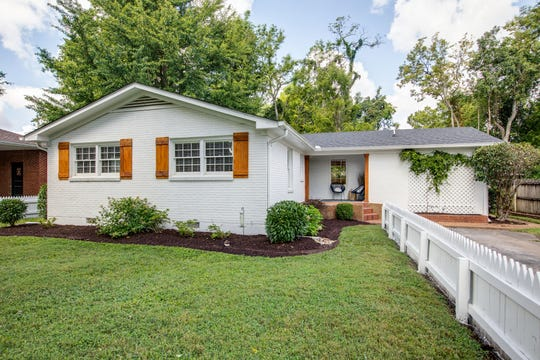 This home at 1502 Figuers in Franklin is an example of a home built in the '60s that has been recently renovated to bring modern finishes into an older part of town.