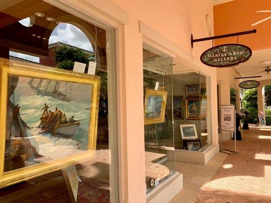 Marine Arts Gallery has opened in The Promenade at Bonita Bay, 26841 South Bay Drive,Unit 152.