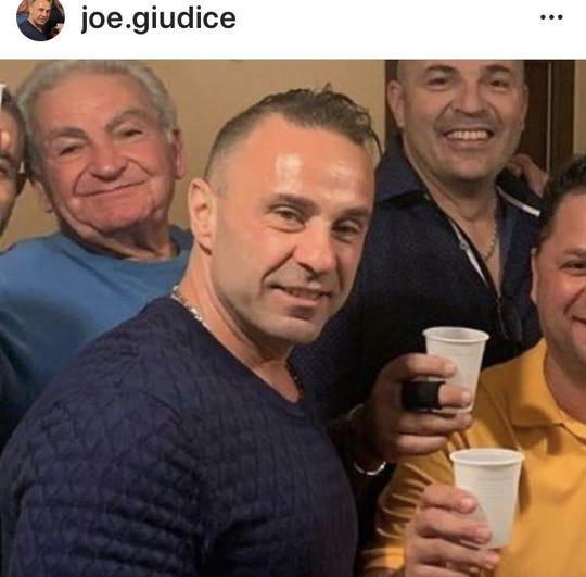 Joe Giudice's Instagram account