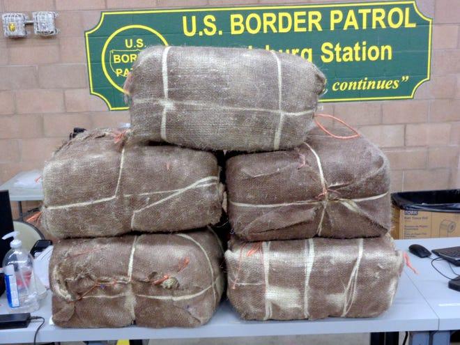 U.S. Border Patrol agents working the Lordsburg Station seized 234 pounds of marijuana on Oct. 30, 2019.