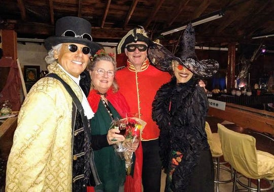 A mixture of historical characters and witches celebrated in Carrizozo.