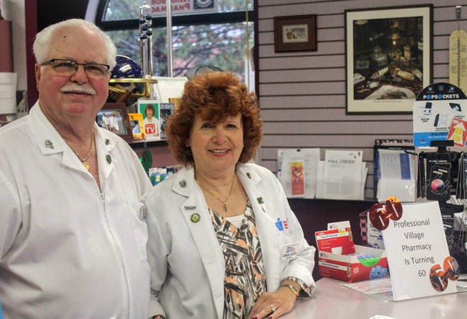 Joe and Barbara Lanzon have owned Professional Village Pharmacy in Livonia for the last 30 years. The independent pharmacy will mark 60 years in business later this month.