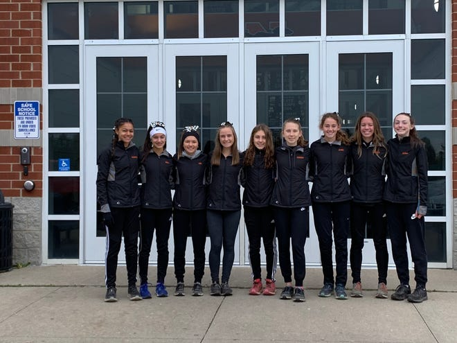 The Northville girls cross-country team finished in sixth place at the Division 2 state finals.