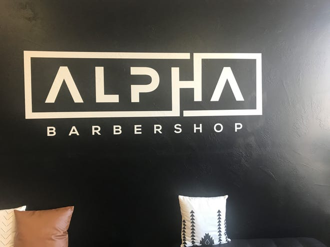 Alpha Barbershop opened last month at 244 Wisconsin St. and provides men's hair care services.
