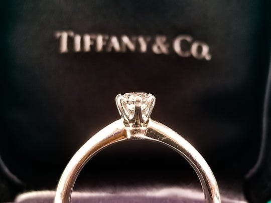 Precious metal jewelry like this has been a Tiffany hallmark for more than 100 years.