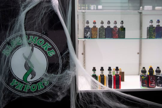 Vape mods for sale at LifeSmoke Vapors in the North Hanover Mall.