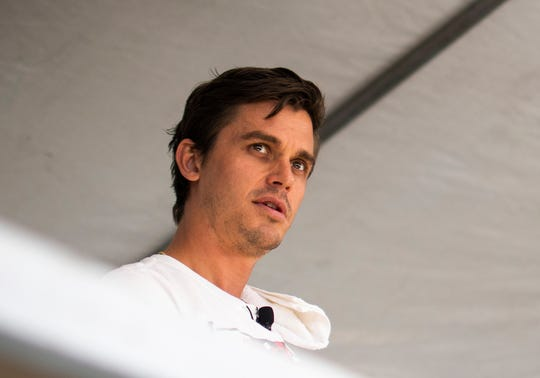 Queer Eye's Antoni Porowski cooks and answers questions at the azcentral Wine and Food Experience near Scottsdale on Sunday, Nov. 3, 2019.