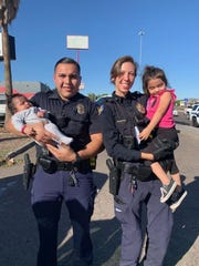 Phoenix police reunited two girls with their mother on Nov. 4, 2019.