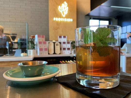 The Havana Nights started out as a signature coffee drink at Provision Coffee Bar six years ago before the cocktail version was created.