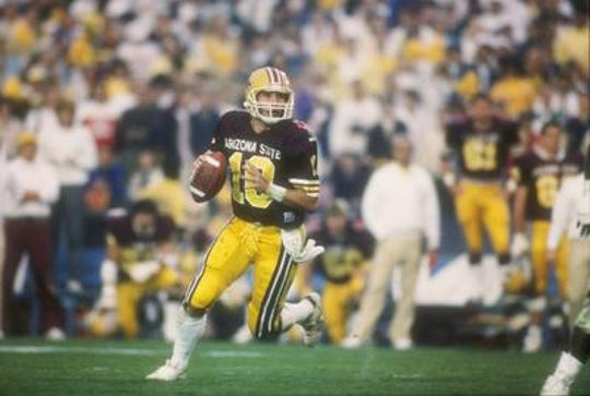 Quarterback Jeff Van Raaphorst was Player of the Game in the 1987 Rose Bowl, a 22-15 win over Michigan.
