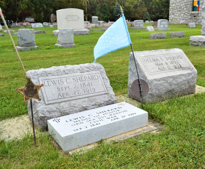 "Ottawa County's only Medal of Honor recipient, Louis Shepard, is buried at Lakeview Cemetery in Port Clinton. He was cited for ""gallant conduct in the assault on Fort Fisher, January 15, 1865 and having entered the stockade, while serving on board of the USS Wabash."" His name is alternately spelled Louis in some government documents"