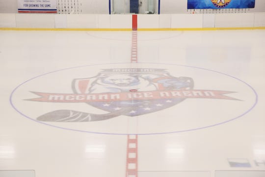 The surface under the ice was renovated over the summer at the McCann Ice Arena, as seen on November 1, 2019.