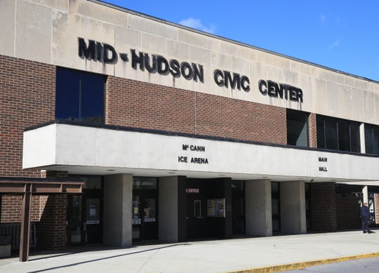 The Mid-Hudson Civic Center in the City of Poughkeepsie on November 1, 2019.