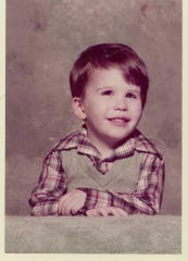 Jonathan Zimmerman was about 3 years old in this photo. Just after Christmas, when Jonathan was 3, a doctor discovered a tumor behind his eye during an exam to see why he had flu-like symptoms.