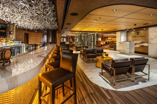 Anthony's Chophouse, the new steakhouse in the Nugget Casino Resort in Sparks, offers menus for the bar and dining room.
