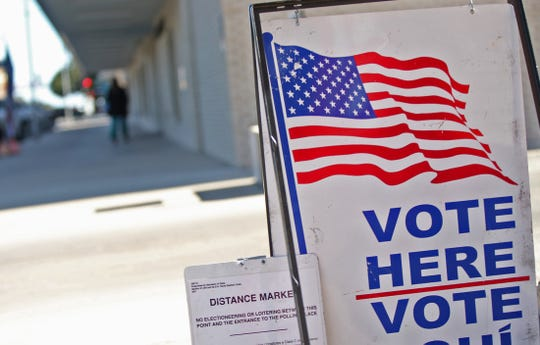 Early voting at the Keyes Building in San Angelo for the Texas constitutional amendment election on Tuesday, Nov. 5,  ended last Friday, Nov 1, 2019.