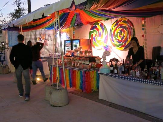 Rainbow City Sponsor Sneak Peek was Nov. 1 in Rainbow City at Caddo Common Park.