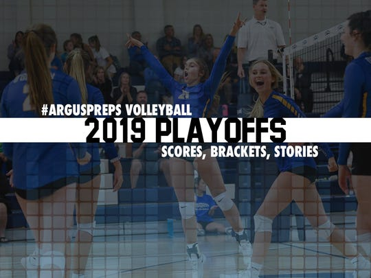 Volleyball playoffs tile