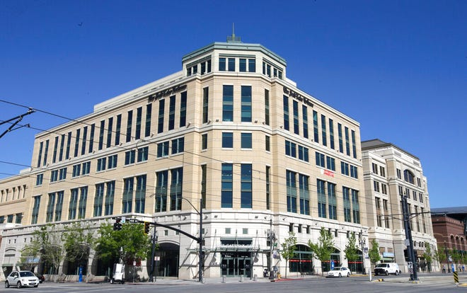 FILE - This April 20, 2016, file photo shows the Salt Lake Tribune in Salt Lake City. The Salt Lake Tribune says it has received approval from the IRS to convert into a nonprofit as the newspaper switches to a nontraditional model that it hopes will ensure long-term stability after years of financial struggles fueled by declines in advertising and circulation revenues. (AP Photo/Rick Bowmer, File)