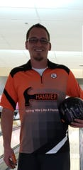 Trent Nay rolled an eye-popping 845 series at Sunset Lanes last week, including back-to-back 300 games.