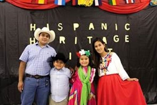 Students and staff at the Tallahassee School of Math and Science gathered to celebrate Hispanic culture during the school's Hispanic Heritage Night on Oct. 17.