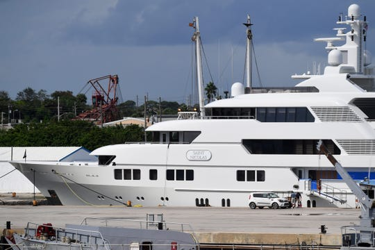 The Saint Nicolas, a 220-foot yacht, is currently docked at the Port of Fort Pierce at Derecktor Ft. Pierce. The yacht is the first mega-yacht to be docked at the port, helping the county bring jobs to the area.