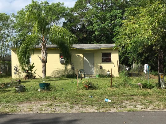 Deputies responded to this home in the 14700 block of Southwest 172nd Avenue of Indiantown, and found a 14-year-old with a gunshot wound who later died at a hospital Sunday. This picture was taken the following day, Monday Nov. 4, 2019.