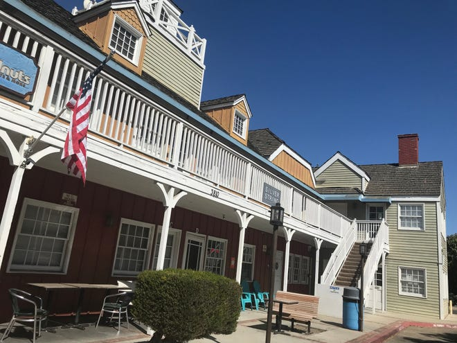 The Cape Cod-styled wooden buildings at Fisherman's Wharf are aging and underutilized. Developers, along with Ventura County, want to see a revitalization plan that includes 400 apartments.
