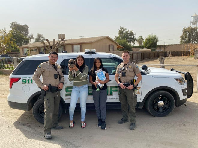 Tulare County deputies Jacob Fogal and Hector purchased a puppy for a Tipton girl whose dog was killed in an attack.