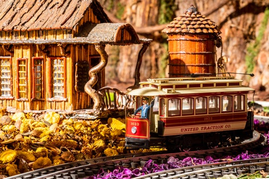 The New York Botanical Garden's annual holiday train show opens Nov. 23, 2019