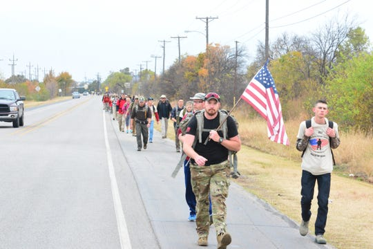 The Base Camp Lindsey March of Honor began in 2017 and will celebrate its third year from 10:15 a.m. to 3 p.m. Saturday leaving from City View Jr/Sr. High School. Registration begins at 9 a.m.