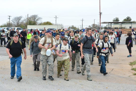 BASE CAMP LINDSAY MARCH OF HONOR: 9 a.m. to 3 p.m. Nov. 9. City View Senior High School, 1600 City View Dr. March starts at 10:15 a.m. 3 courses. Register at www.NTVRF.com. T-shirt and medal, $20 to $30.