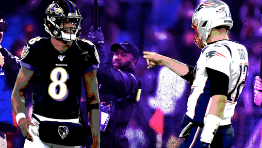 Ravens QB Lamar Jackson dazzles against Patriots: 'This man is the MVP'