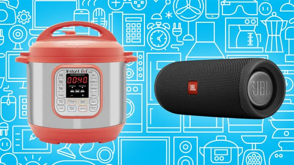 Save big on colorful Instant Pots and great tech.