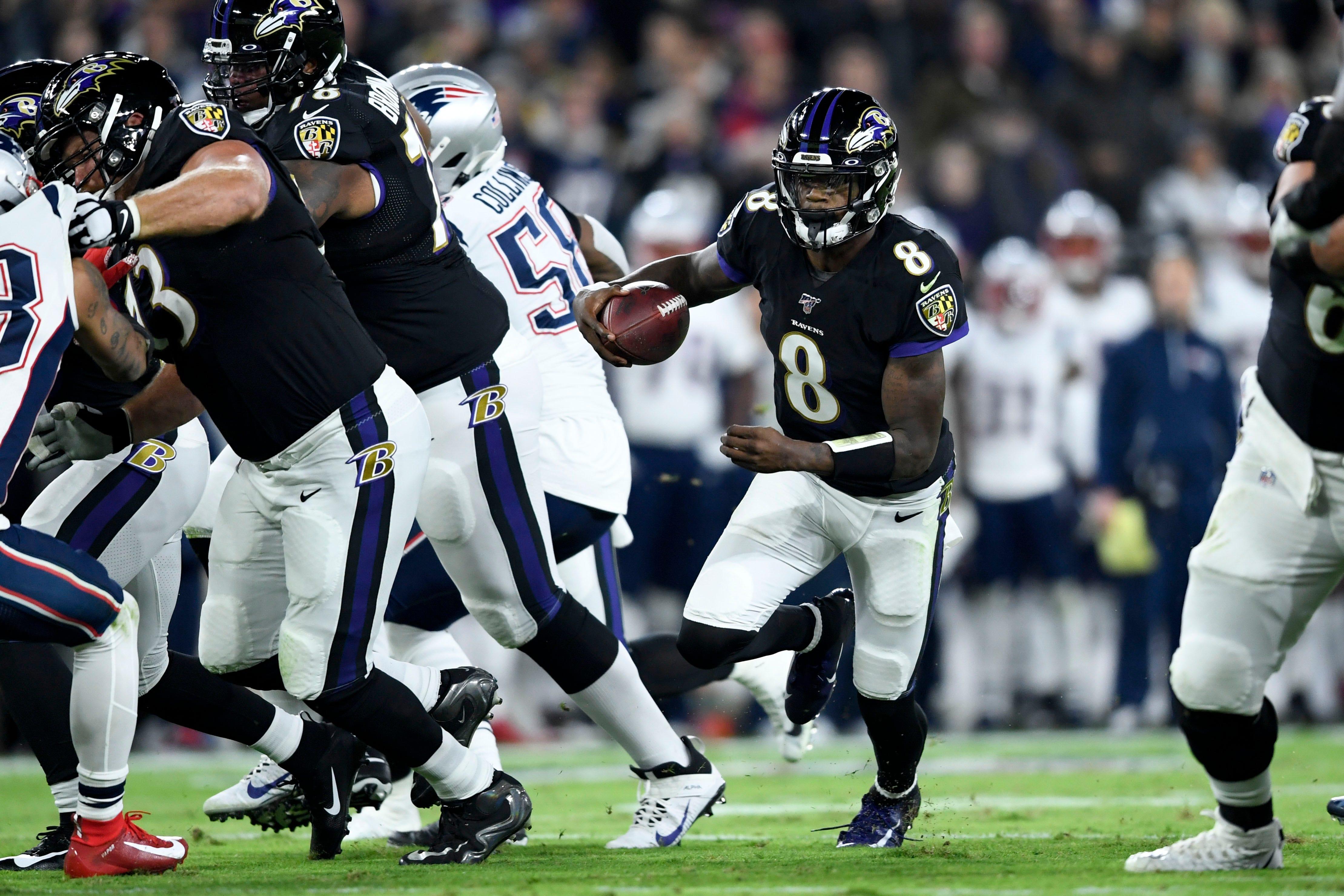 Undefeated no more: Lamar Jackson, Ravens end Patriots  bid for 16-0 season