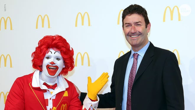 McDonald's CEO Steve Easterbrook was fired for having a 'consensual' relationship with an employee.