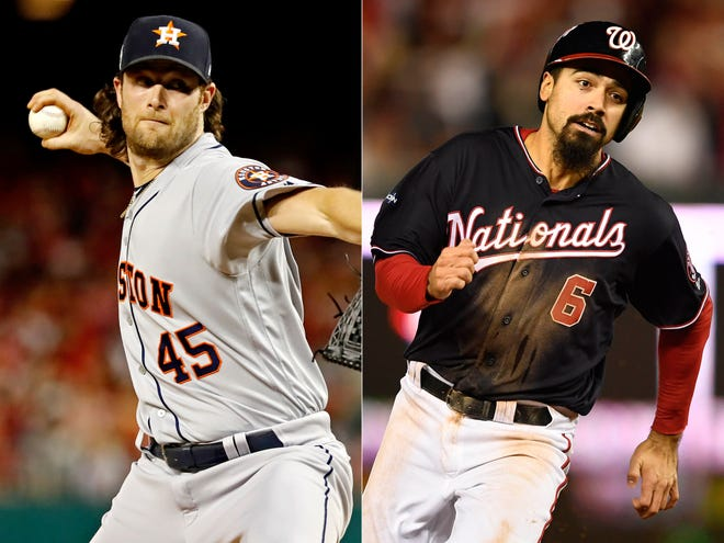 Gerrit Cole and Anthony Rendon are two of the top free agents on the market this winter.